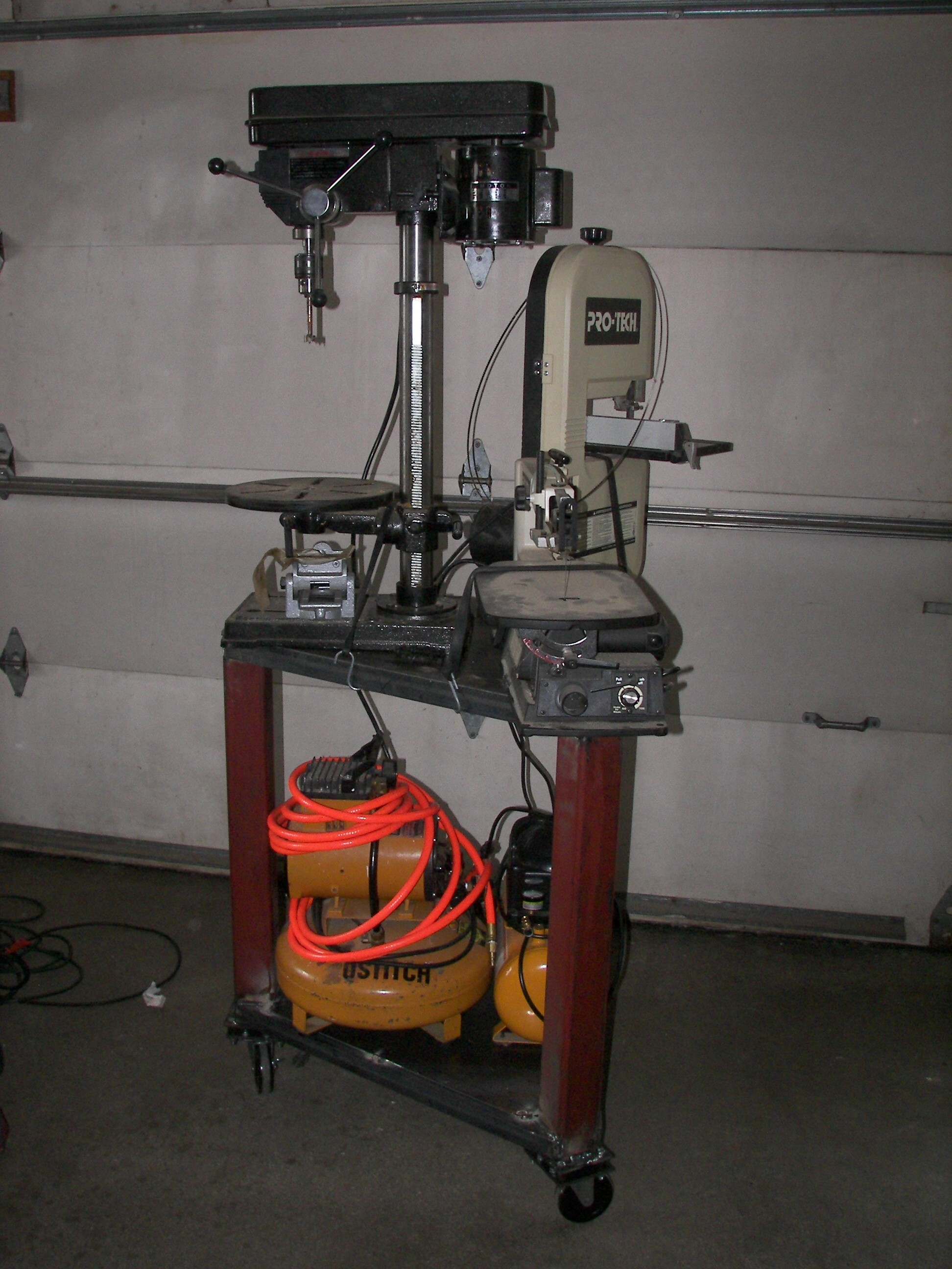 Roll Around Tool Bench