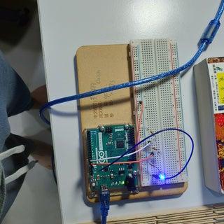 LED Blinking Light With Arduino