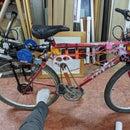 Air Powered Bicycle - Pneumatic Bike!
