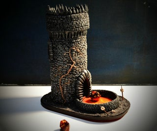 Make a Sculpted Dice Tower