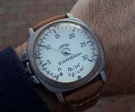 Wrist Watch From Used Items