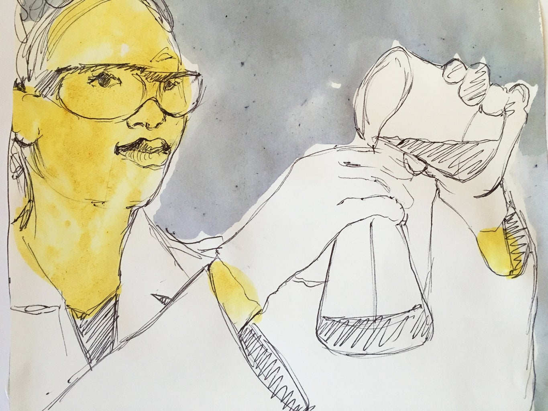 Color Your Scientist Patches