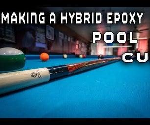 How to Make a Custom Hybrid Epoxy Pool Cue Using a Wood Lathe