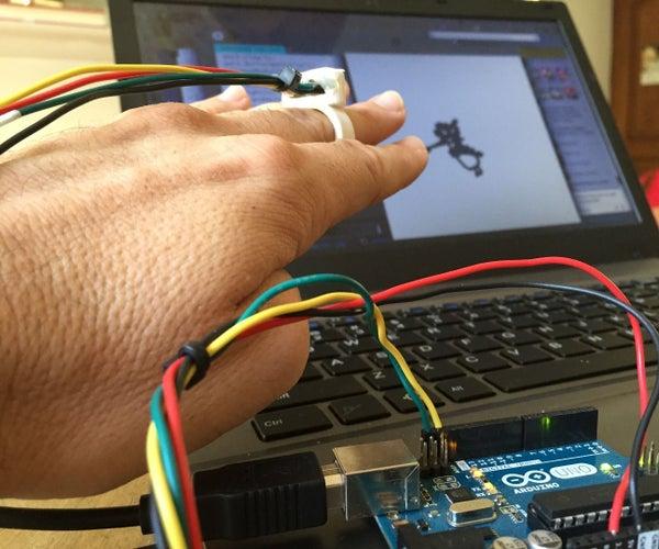 Conexión Serial Arduino a Processing (acelerómetro En Anillo)