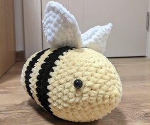 钩针编织蜜蜂