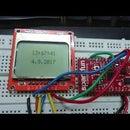 Esp32 5110 LCD Interfacing and Digital Clock