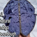 All Natural Indigo Sourdough