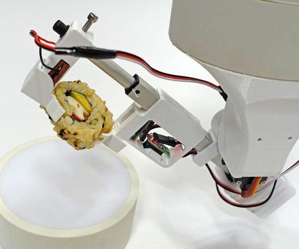 Sushi Bot: PVC Modular Robot