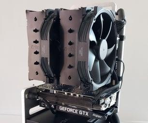 打开框架迷你ITX PC