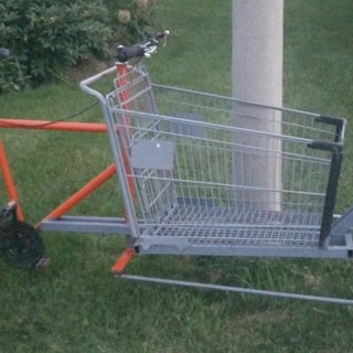 Build a Shopping Cart Cargo Bike