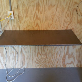 Wall-mounted Fold Out Desk