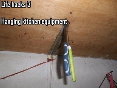 Hanging Kitchen Equipment
