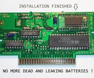 Non volatile RAM Upgrade for SNES & SFC cartridges