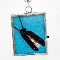 Blinking LED Firefly Pendant