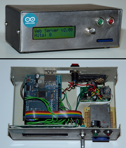 Circuit Displays Internet Data