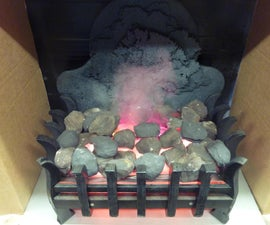 Faux Fire From Water.... With Lasers! :)