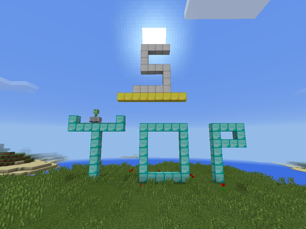 Top 5 Hidden Bases: Minecraft
