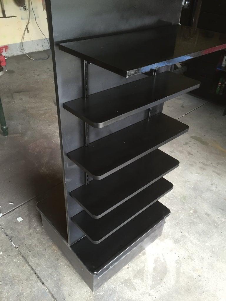 Freestanding Rolling Shelf