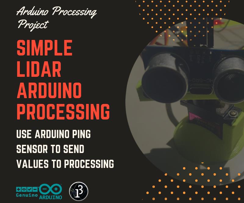 Simple Processing Lidar
