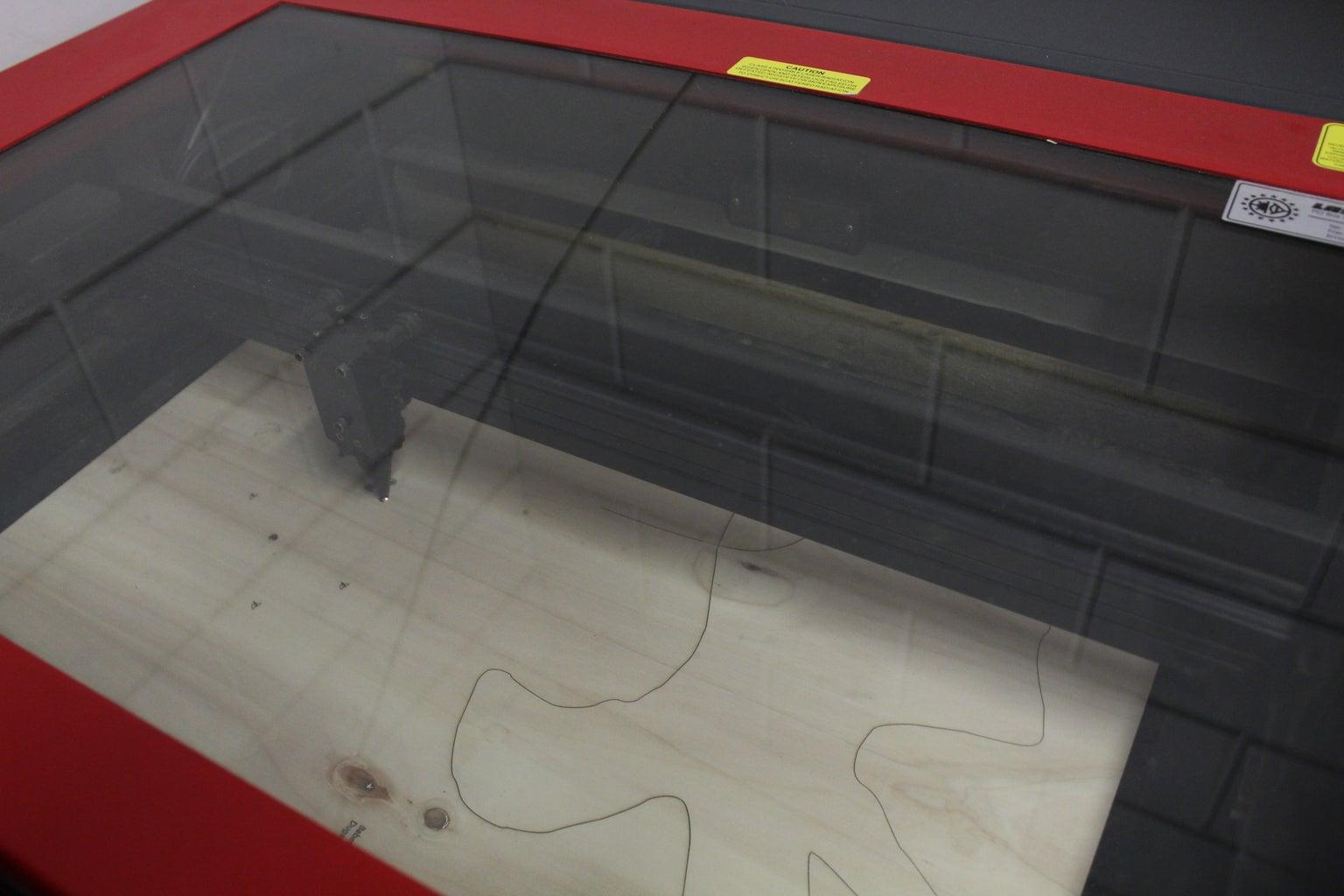 Lasercutten Van De Triplex Platen