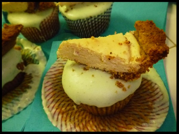 Mother-in-law Pie on a Chai Cupcake