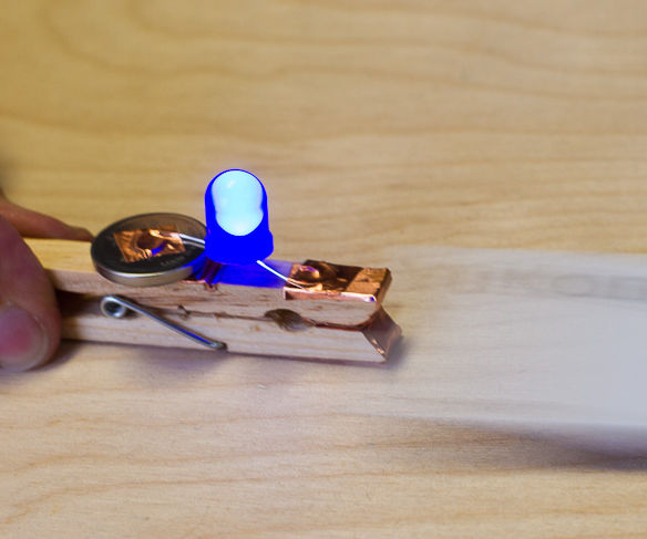 LED Clothes Peg Tampering Detector