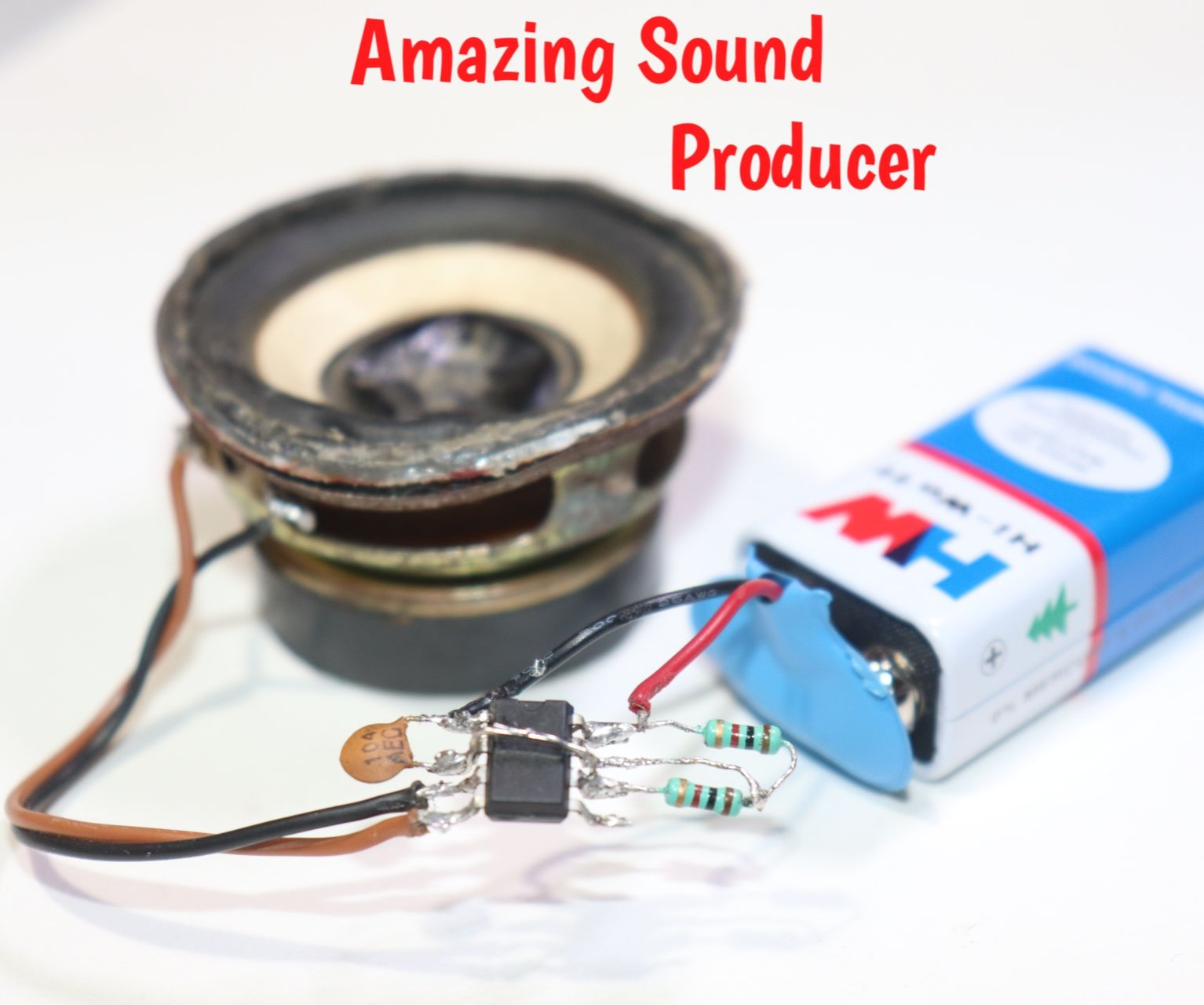 How to Make Amazing Sound Producer Using LM555 IC
