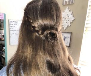 给自己做三个简单的发型