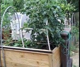 Deck Garden Planter Box