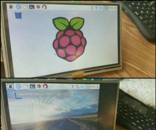 Setting Up an 800X480 5inch HDMI LCD for Raspberry Pi