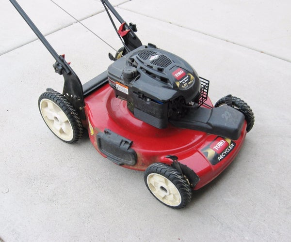 Tune Up Your Lawn Mower!
