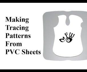 Making PVC Tracing Patterns
