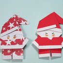 EASY ORIGAMI SANTA CLAUS TUTORIAL