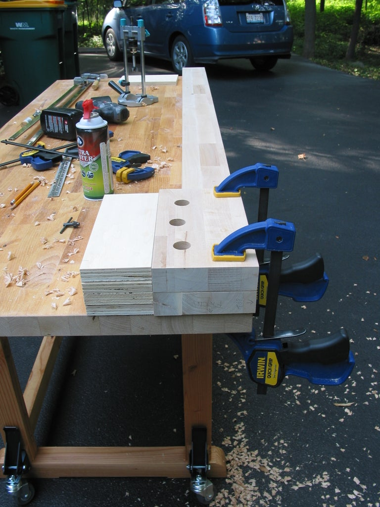 Preparing the Workbench Top: Attaching the Apron & Vise