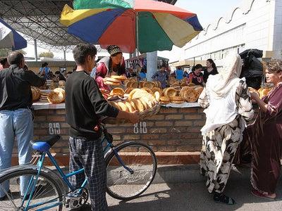 Tashkent Non (Uzbek Bread)