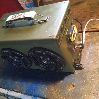 Ammo Box Speakers
