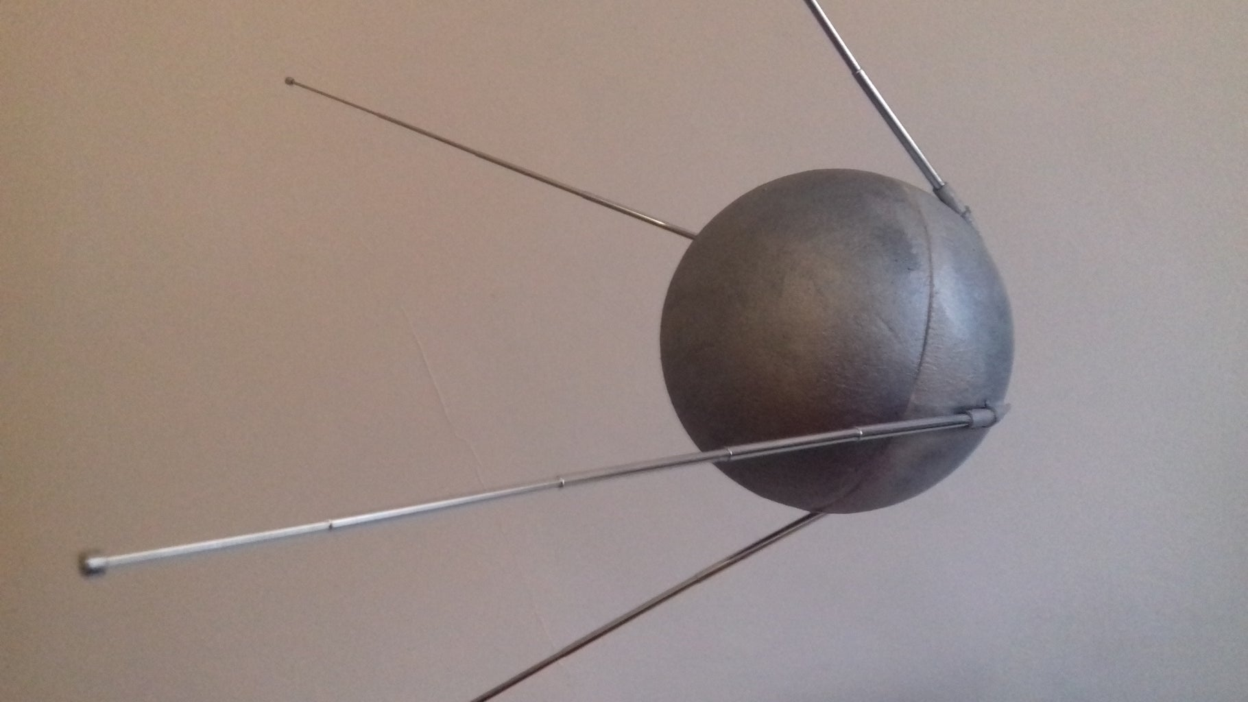 Sputnik 1 Aka the 1st Satellite Put in Orbit by Soviet Union, in 1957