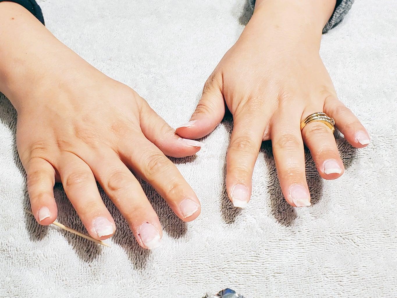 Finish Preparing Your Nails
