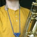Prototype Leather Saxophone Neck Strap