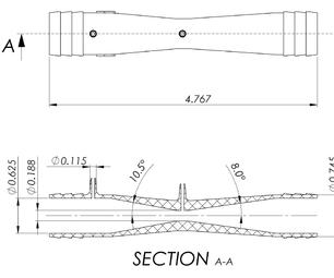 Venturi Flow Rate Sensor