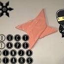 Duct Tape Ninja Stars!!!