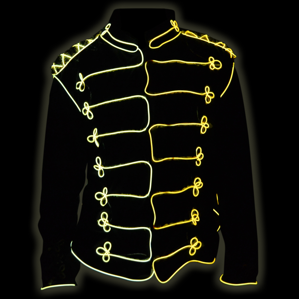 EZ-EL Wire Michael Jackson Costume! Step-By-Step Tutorial