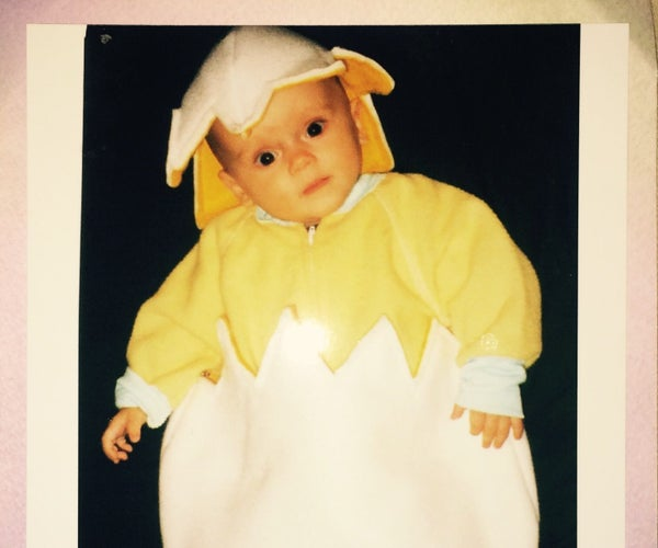 My Daughter's First Halloween Costume. 1997