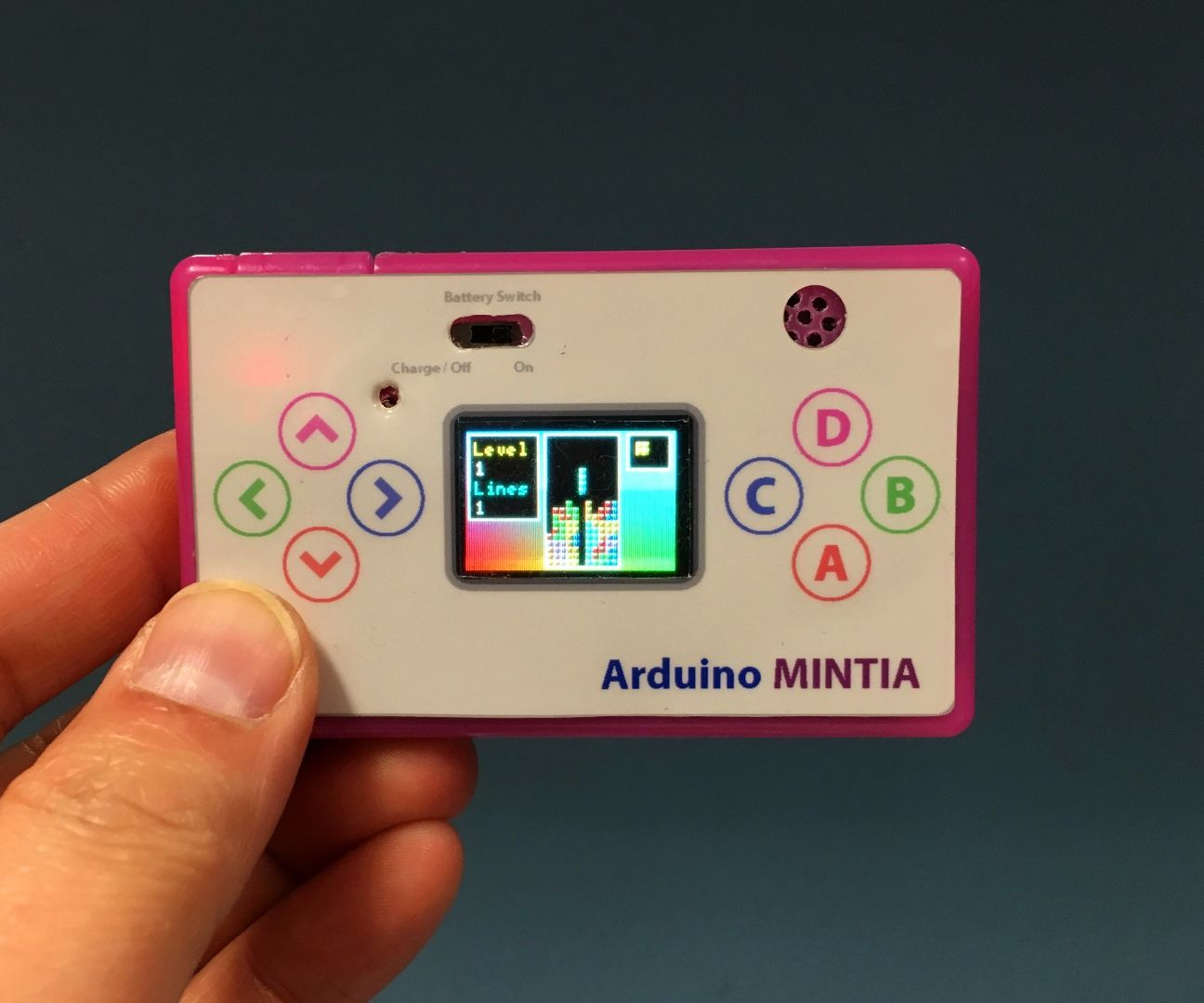 Arduino MINTIA - Game Console In A Candy Box