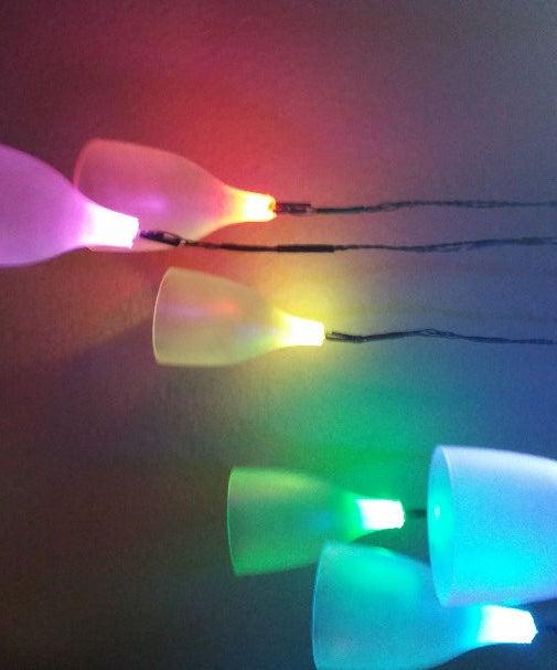 Upcycled Skip Dive Arduino Wine Glass LED Lamp