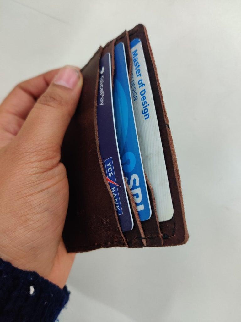 Let's Make a Leather Card Holder!