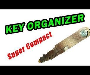 World's Most Compact Key Organizer