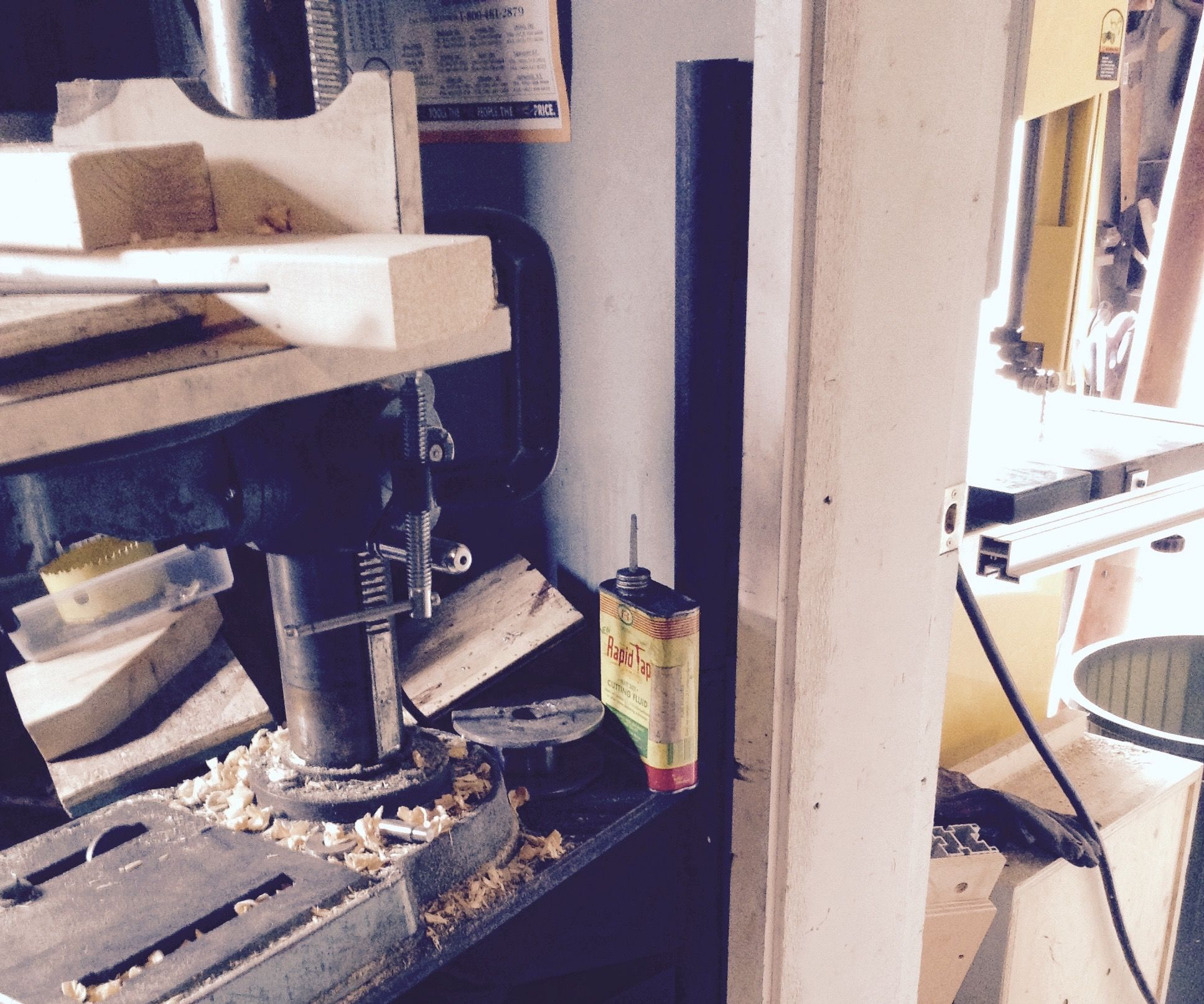 Swing Out Drill Press Holder