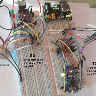 Arduino Internet of Things (IoT) Using NiceRf LoRa1276