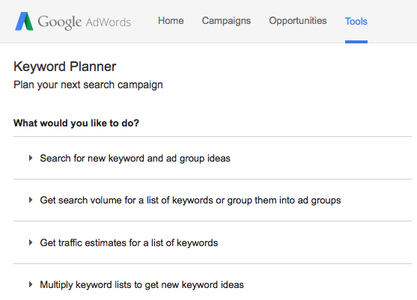 Using Google AdWords to Choose the Title